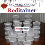Extreme Freeze Deli Containers with Lids